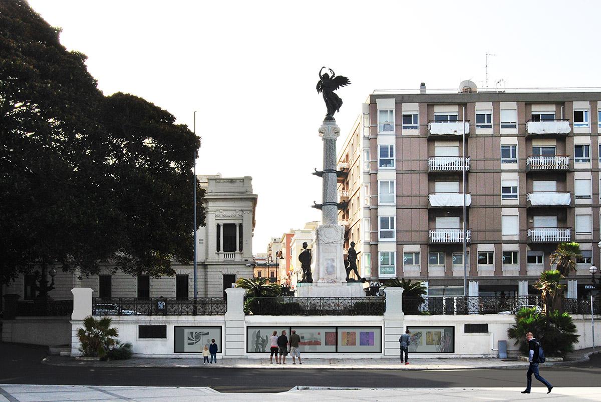 monumento ai caduti progetto